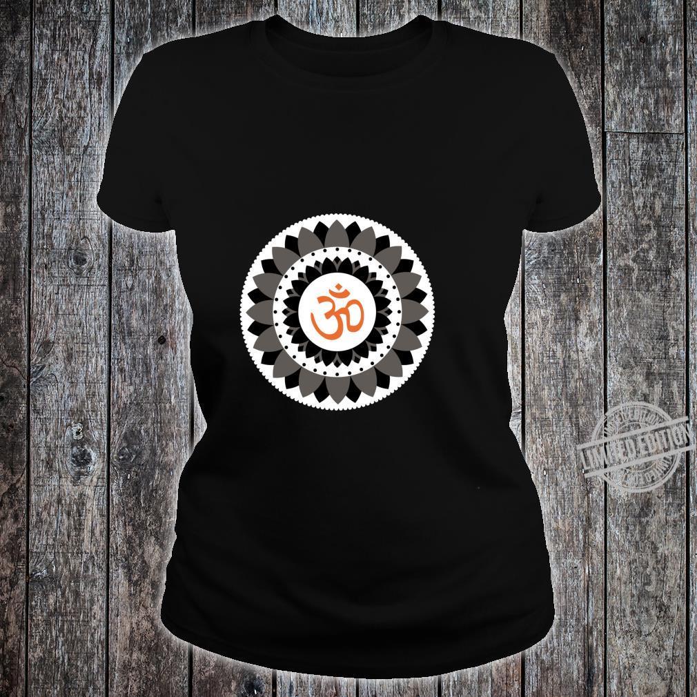 NAMASTE YOGA PRANA OM Spread Peace Shirt ladies tee