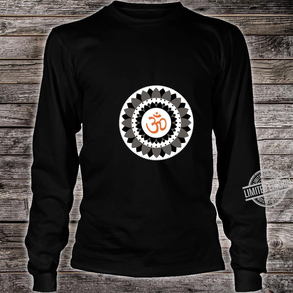 NAMASTE YOGA PRANA OM Spread Peace Shirt long sleeved