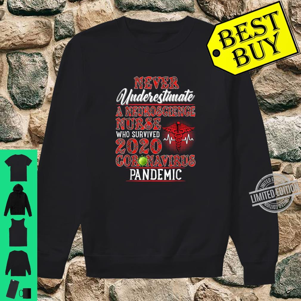 Never Underestimate A Neuroscience Nurse Who Survived Shirt sweater