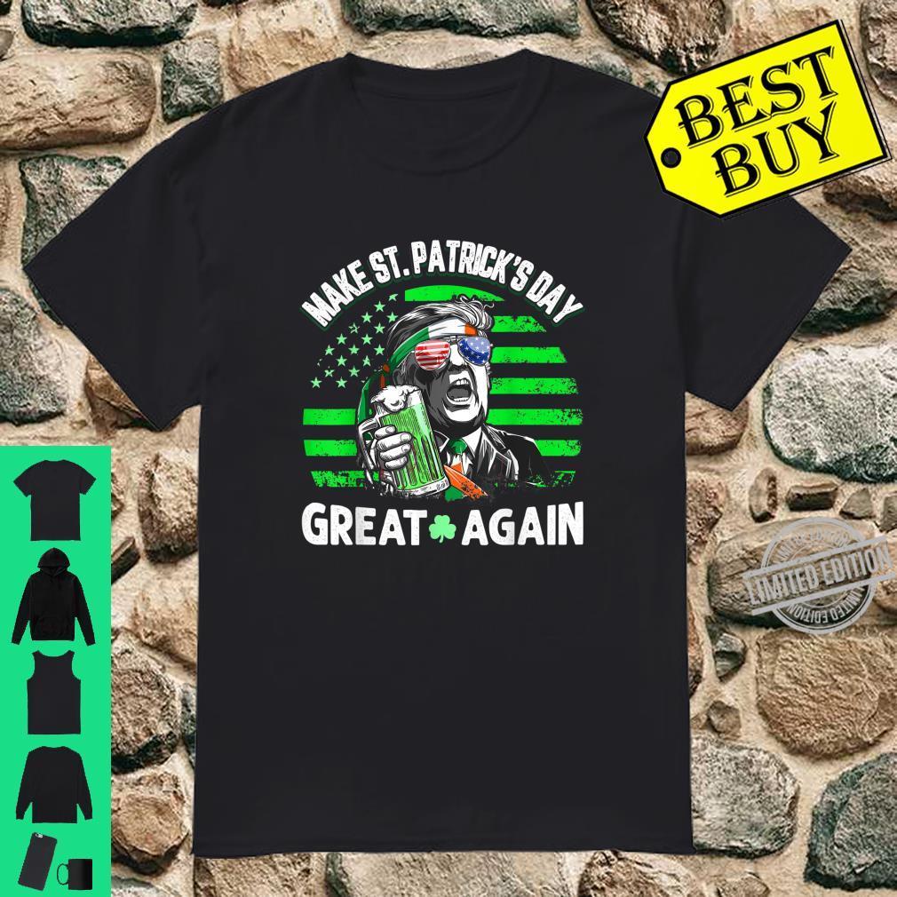 Official Trump Make St Patricks Day Great Again Shirt