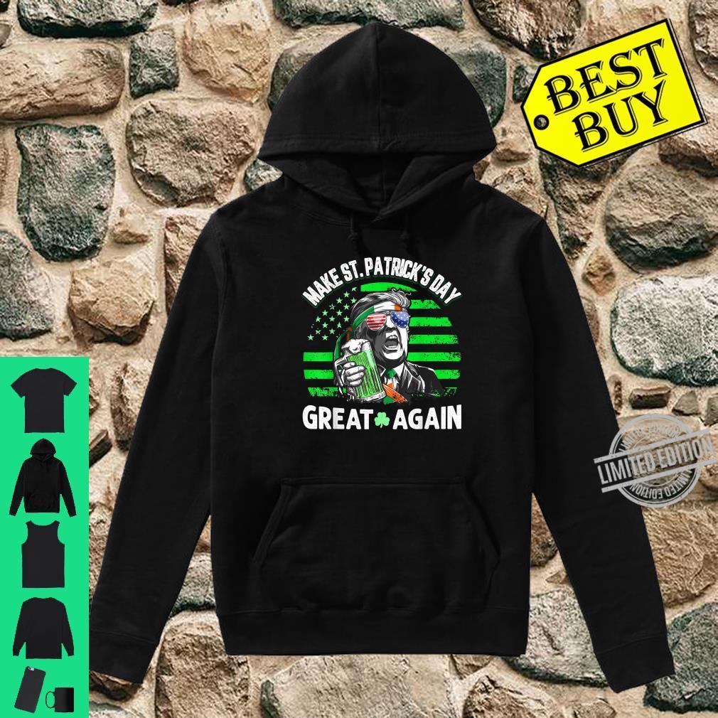 Official Trump Make St Patricks Day Great Again Shirt hoodie