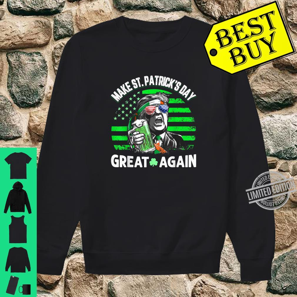 Official Trump Make St Patricks Day Great Again Shirt sweater