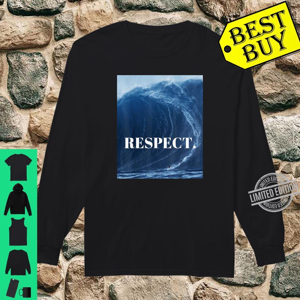 RESPECT. Shirt long sleeved