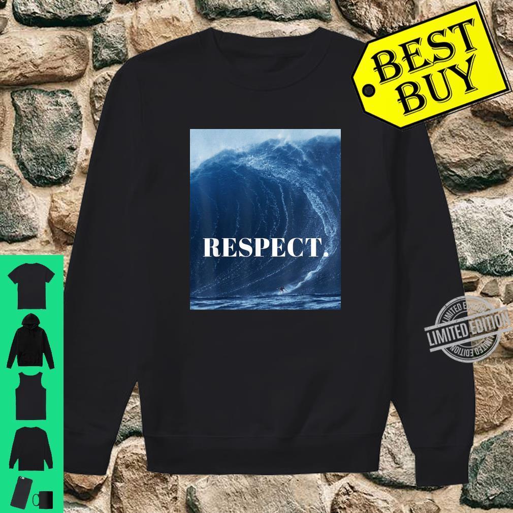 RESPECT. Shirt sweater
