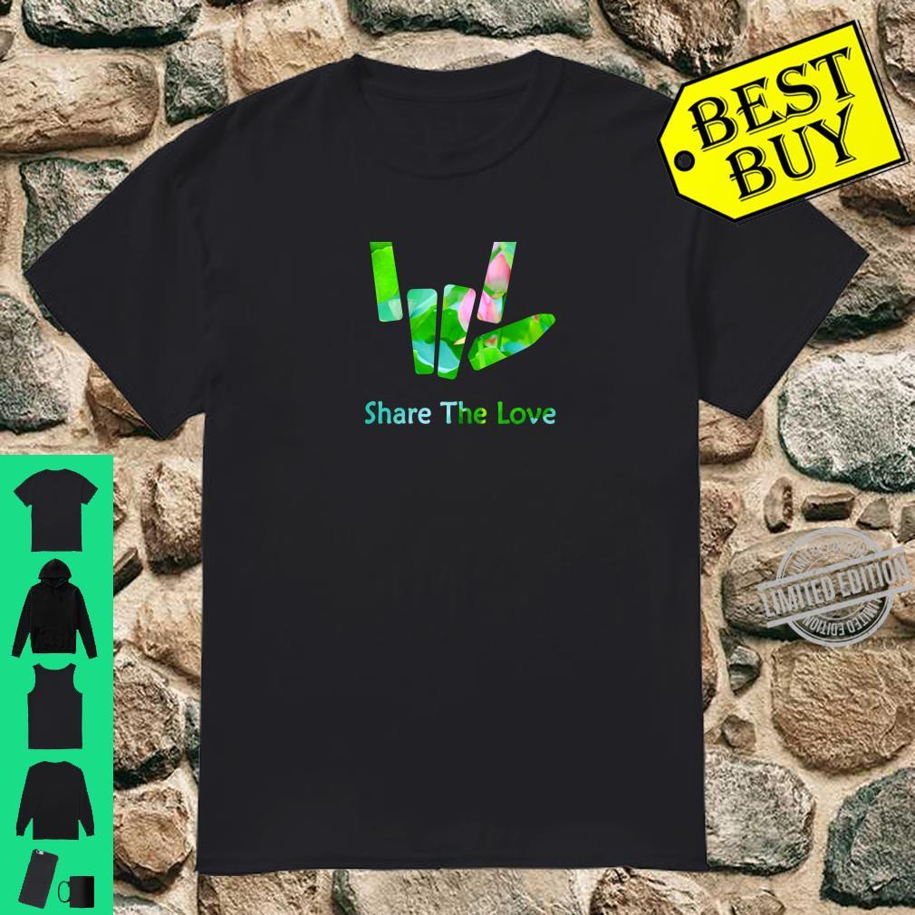 Share the Love Merch for and Youth BACK SIDE Shirt