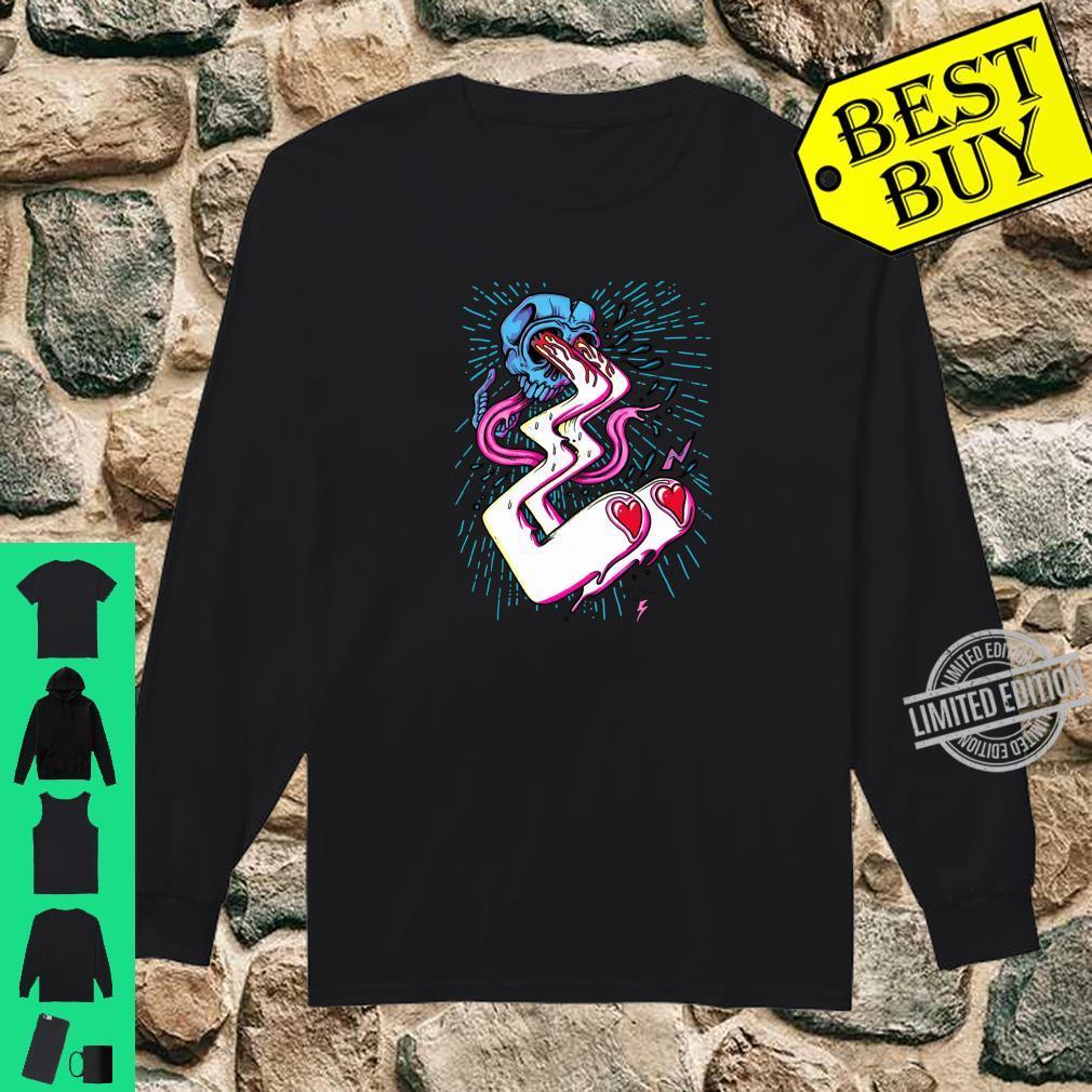 Skater Punk Clothing Valentines Vintage Punk Street Art Shirt long sleeved