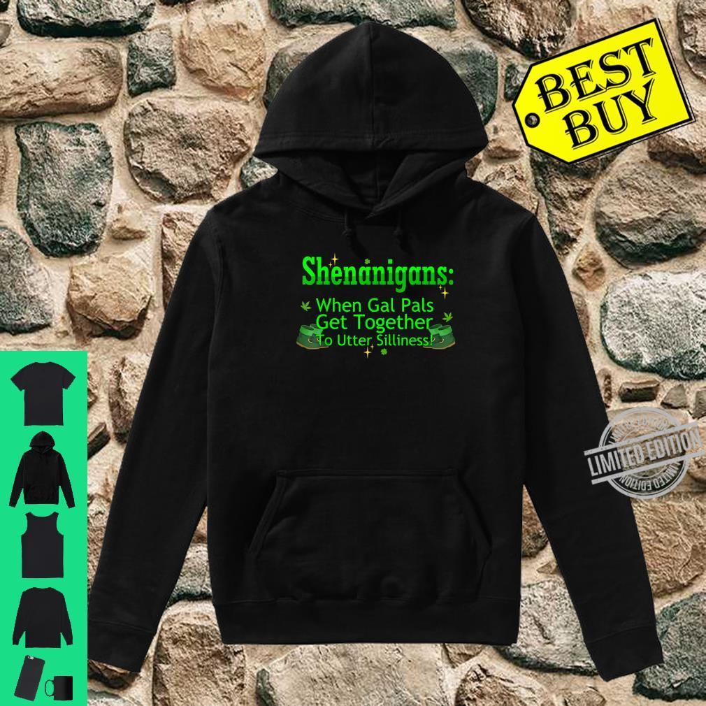 St Patricks Marijuana Shirt Shenanigans Weed Cannabis Shirt hoodie