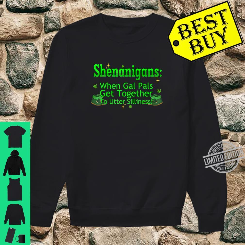St Patricks Marijuana Shirt Shenanigans Weed Cannabis Shirt sweater