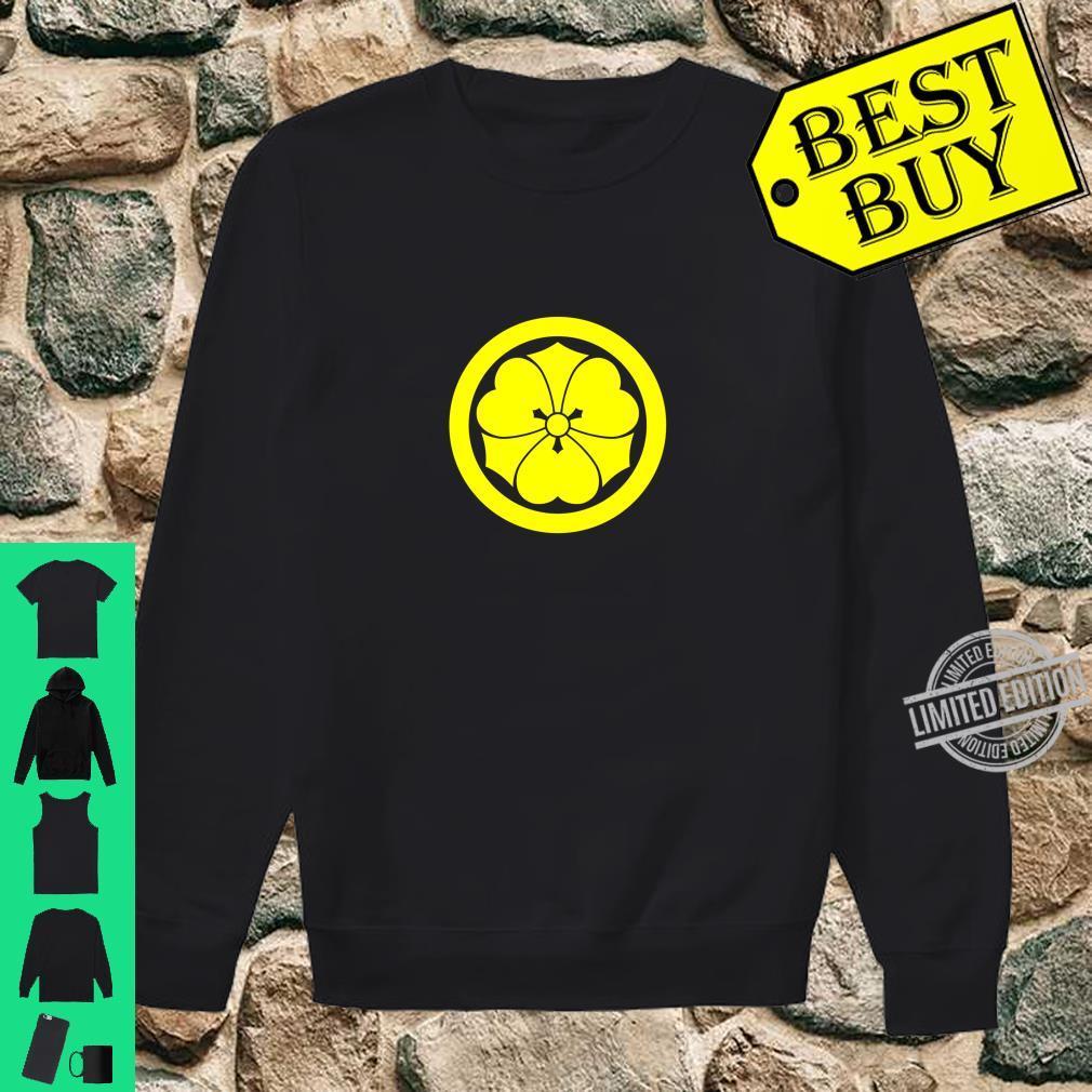 Vintage Yellow Blue Sakai Japan Mon Shirt sweater