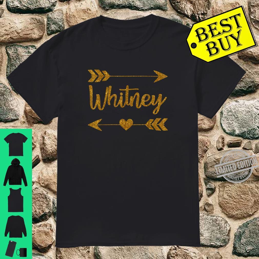 WHITNEY Personalized Mom Name Birthday Custom Shirt