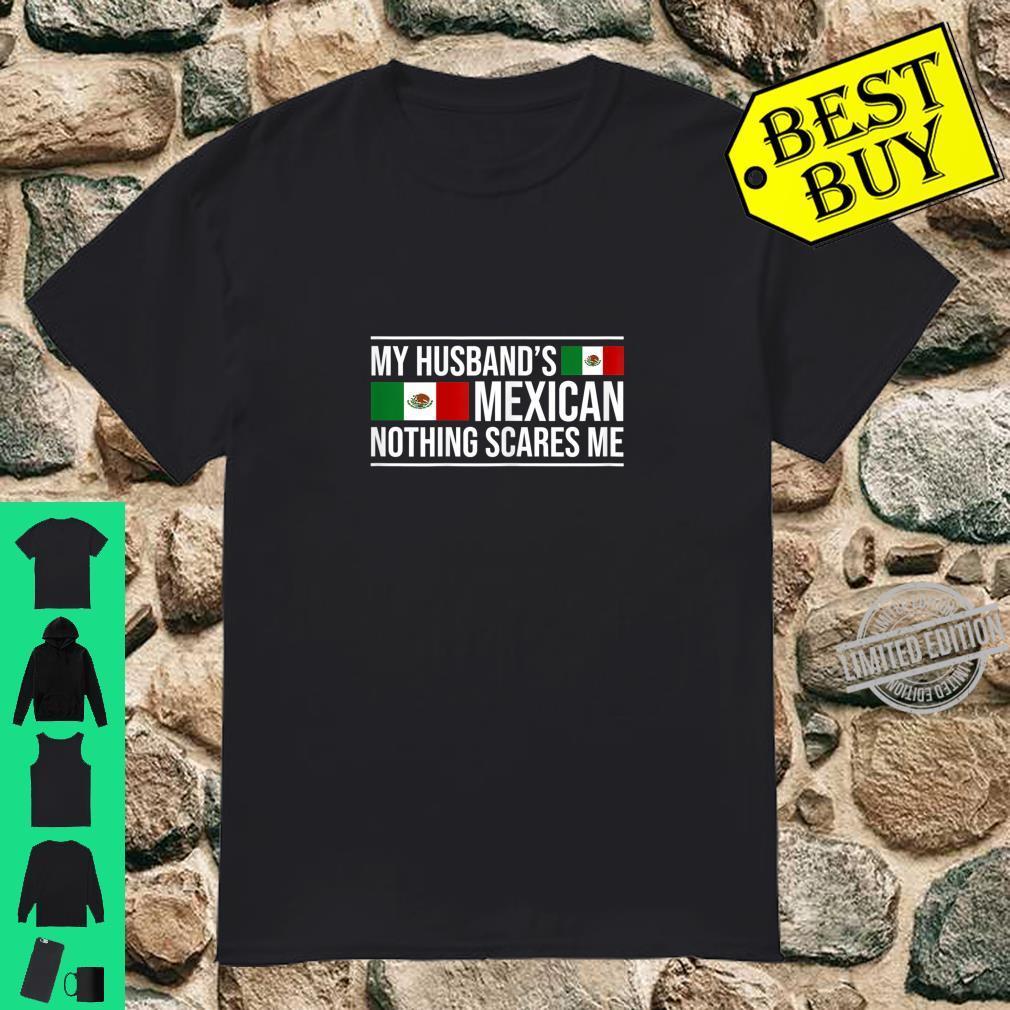 Womens Mexican Husband Mexico Wife Anniversary Wedding Shirt